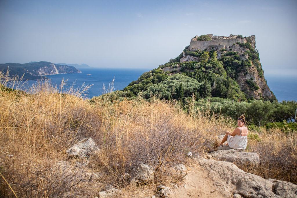 Corfu Greece Travel Guide: View point Angelokastro