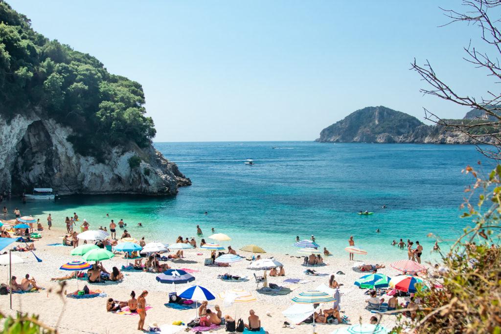 the best things to do in Corfu: Rovinia Beach