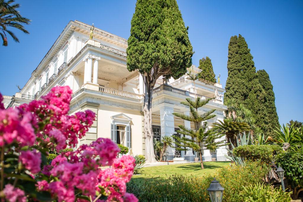 Corfu Greece Travel Guide: Achilleion and garden
