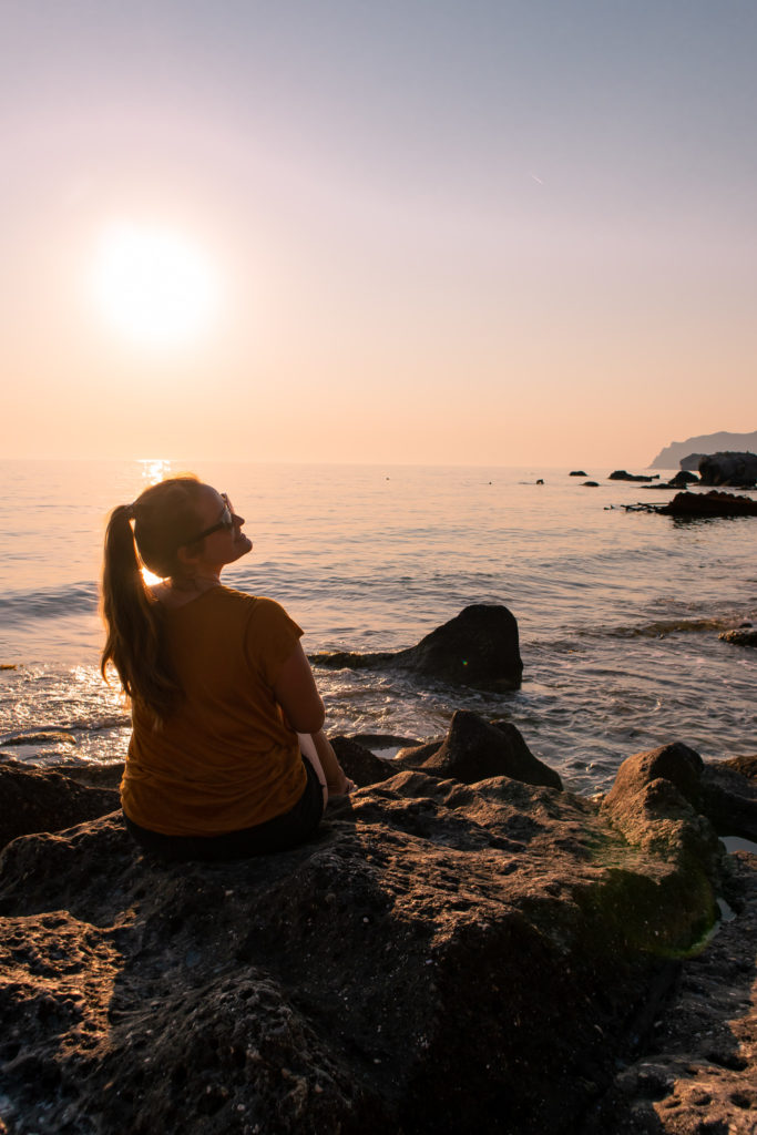 Corfu Greece Travel Guide: sunset at Agios Gordios