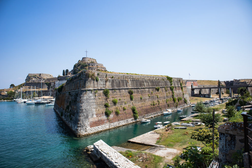 the best things to do in Corfu:  Fort of Corfu Town